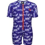 Blue - UV Suit Children's Clothing Hummel Drew Swim Bodysuit - Surf the Web (202299-7788)
