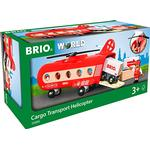 Toy Helicopter Brio Cargo Transport Helicopter 33886