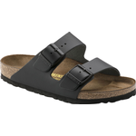 Sandals Birkenstock Arizona Natural Leather - Black