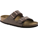 Sandals Birkenstock Arizona Birko-Flor Nubuck - Mocca
