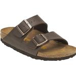 Sandals Birkenstock Arizona Birko-Flor - Dark Brown