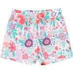 Shorts - Baby Children's Clothing Fred's World Aloha Shorts with Flower Print - White (1536011700-011060102)
