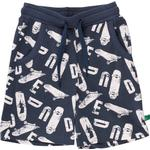 Shorts - Print Children's Clothing Fred's World Shorts with Skateboard Print - Midnight (1536012600-019411006)