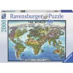 Ravensburger World Map 2000 Pieces