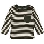T-shirts - Cotton Children's Clothing Wheat Frede T-shirt - Dark Army