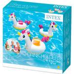 Inflatable Toys - Unicorn Intex 3-Unicorn Drink Holders