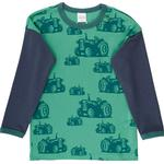 Green - T-shirts Children's Clothing Fred's World Farming T-shirt with Tractor Baby - Green (1512061701-018602201)