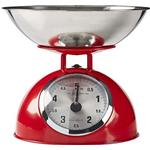 Red Kitchen Scales Nedis KASC110
