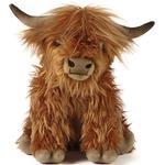 Farm Life - Soft Toys Living Nature Highland Cow 30cm