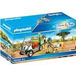 Play Set - Lion Playmobil Zoo Vet with Medical Cart 70346