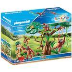 Monkey Toys Playmobil Orangutans with Tree 70345