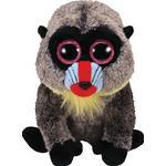 Soft Toys - Monkey TY Beanie Boo Black Blue Brown Red Monkey 33cm
