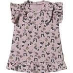 Ruffled Dresses - Buttons Children's Clothing Hust & Claire Diea - Violet Ice