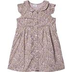 Ruffled Dresses - Flowery Children's Clothing Hust & Claire Diza - Violet Ice (30100299144660-3341)