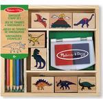 Creativity Sets - Wood Melissa & Doug Dinosaurs Stamp Set
