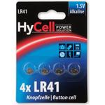Silver - Camera Batteries Hycell Alkaline LR41 Compatible 4-pack