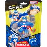 Rubber Figures Character Heroes of Goo Jit Zu Marvel Superheroes Captain America