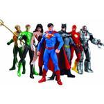Batman - Action Figures DC Comics Justice League 7 Pack Action Figure Box Set