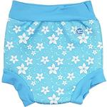 1-3M - Swim Diapers Children's Clothing Splash About Happy Nappy - Blue Blossom