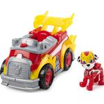 Lights - Car Spin Master Paw Patrol Mighty Pups Super Paws Marshall Deluxe Vehicle