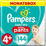 Pampers Baby Dry Pants Size 4+