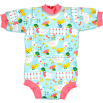 UV Suit - Elastan Children's Clothing Splash About Happy Nappy Wetsuit - Little Ducks