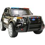 Storage Space - Electric Vehicle PlayFun Police Car 12V