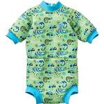 Logotype - UV Suit Children's Clothing Splash About Happy Nappy Wetsuit - Green Gecko