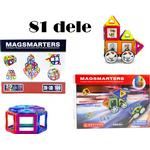 Construction Kit - Building Magsmarters 51pcs + 30pcs