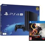 Playstation 4 Game Consoles Deals Sony PlayStation 4 Pro 1TB - Nioh 2