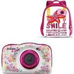 Waterproof Digital Cameras Nikon Coolpix W150 + Backpack Kit