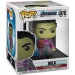 "The Hulk - Figurines Funko Pop! Movies Marvel Avengers Endgame Hulk with Gauntlet 6"""