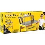 Toy Tools - Fabric Stanley Jr Workbench & 6 Tool Set