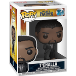 Super Heroes - Figurines Funko Pop! Marvel Black Panther T'Challa