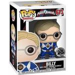 Power Rangers - Figurines Funko Pop! Television Power Rangers Blue Ranger Billy