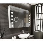 Bathroom Cabinet - Mirrored Cabinet Artforma L03 (SZ3L003GOSZ) 100x72 cm