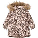 Pockets - Parkas Children's Clothing Kuling Canazei Winter Coat - Leopard