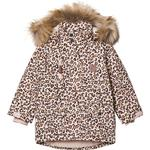 Velcro - Winter Jacket Children's Clothing Kuling Val Thorens Parka - Leopard
