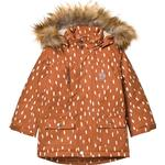 Jackets Children's Clothing Kuling Val Thorens Parka - Brown Dots