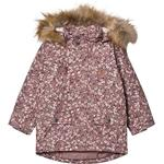 Reflectors - Parkas Children's Clothing Kuling Val Thorens Parka - Lilac Flower