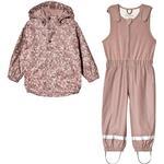 Rain set - 134/140 Children's Clothing Kuling Ottawa Recycled Rain Set - Lilac Flowers