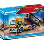 Construction Site - Play Set Playmobil City Action Interchangeable Truck 70444