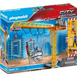 Construction Site - Play Set Playmobil City Action RC Crane with Building Section 70441