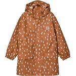 Rain jackets - 146/152 Children's Clothing Kuling Girwood Rain Jacket - Brown Dots