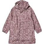 Rain jackets - 134/140 Children's Clothing Kuling Manchester Rain Jacket - Lilac Flower