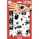 Stickers - Plasti Djeco Tattoos Pirates