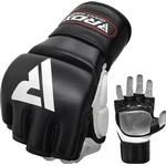 Gloves - MMA RDX T1 Leather MMA Training Gloves