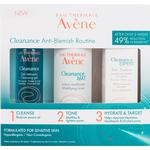 Gift Box / Set - Paraben Free Avene Cleanance Anti Blemish Routine Kit