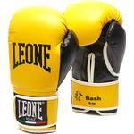 Gloves - Yellow Leone Flash Boxing Gloves 10oz