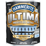 Metal Paint Hammerite Ultima Metal Paint Grey 0.75L